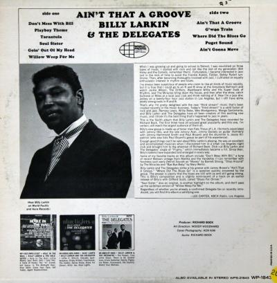 Billy Larkin & The Delegates : Discographie