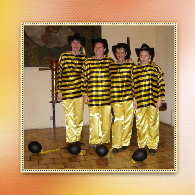 Les Appalaches souvenirs des bals costumés- Segonzac  2008