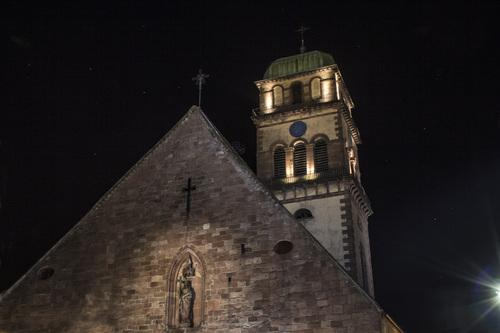 KAYSERSBERG , église ste croix
