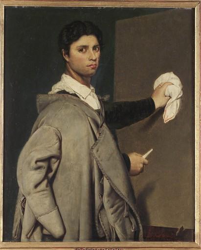 Le Portrait de Jean-Auguste-Dominique Ingres (d'après un original d'Ingres peint en 1804),
