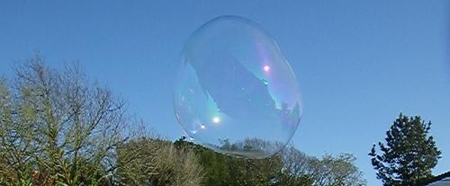 Recettes bulles géantes...