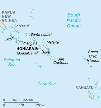 SolomonIslandsMap