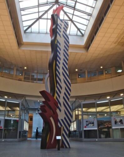 Lichtenstein BRUSHSTROKE Caisse Dépôts Consignations 6