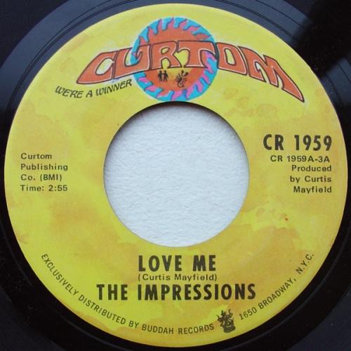 1971 : Single SP Curtom Records CR 1959 / CR 1959 Copy DJ Promo [ US ]