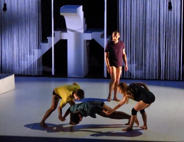 """""""L'hypothèse de la chute"""", a ravi les amateurs de danse moderne au Théâtre Gaston Bernard ...."""