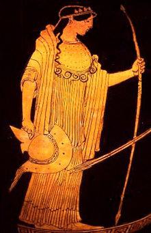 Athéna, déesse de la guerre