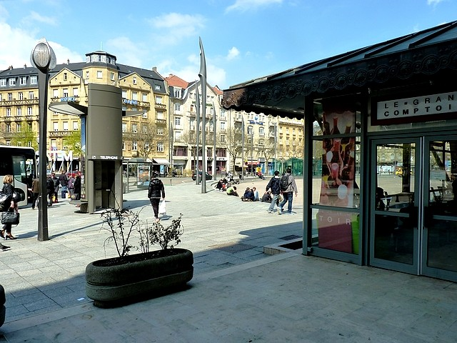 Place de la Gare Metz 2 Marc de Metz 2012