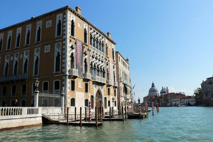 Venise, navigation retour sur le Grand Canal en vaporetto