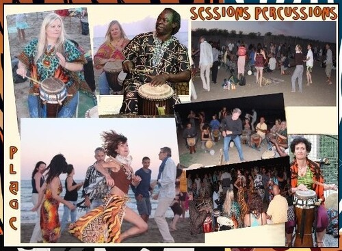 ★ Session Percussions Africaines [Ven 10 Juillet]