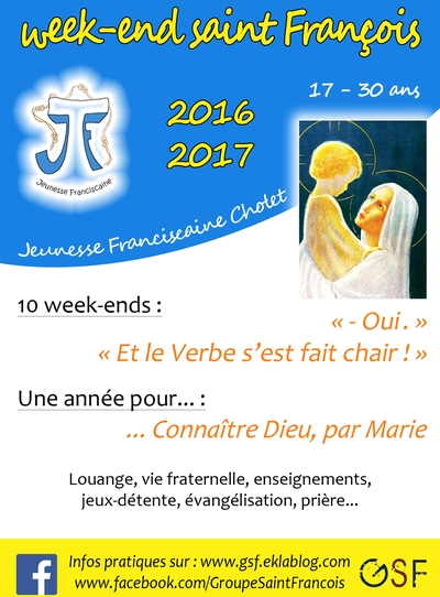 """WE saint François"" 2016-2017 !"