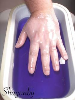 Bain de paraffine