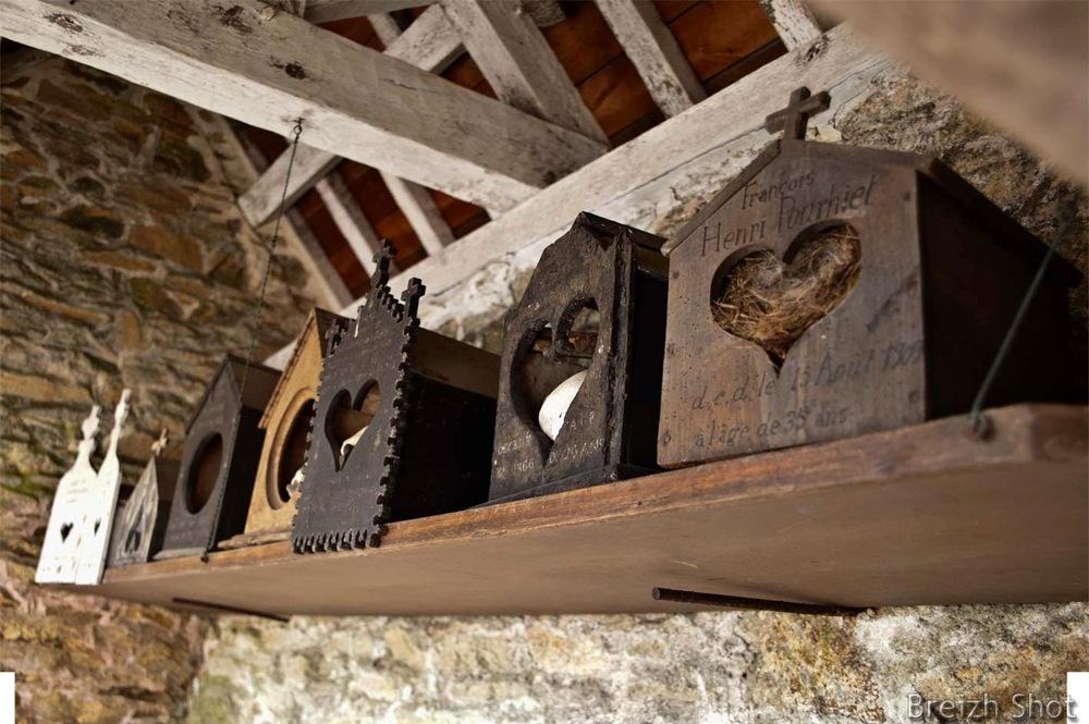 Boîtes à crâne - Saint-Fiacre