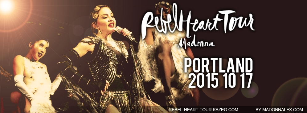 Madonna - The Rebel Heart Tour Portland