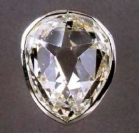 Diamant dit �Le Sancy� Diamants de la Couronne, galerie d�Apollon, mus�e du Louvre � RMN