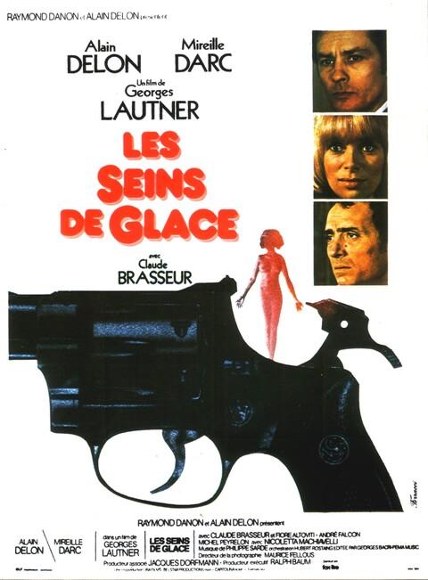 LES SEINS DE GLACE - BOX OFFICE ALAIN DELON 1974