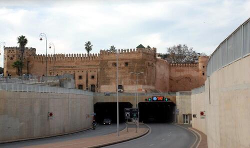 Casbah et tunnel des Ouyadas