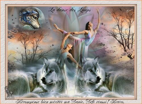 Défi (3) pour Kaly .. la danse des loups