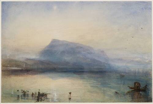 The Blue Rigi, Sunrise - 1842