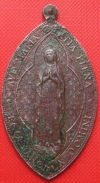 Médaille Vierge avers