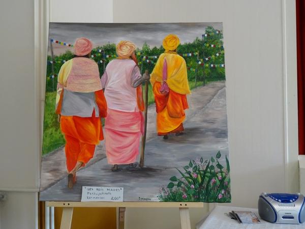 La journée des peintres2014 à Villaines en Duesmois...