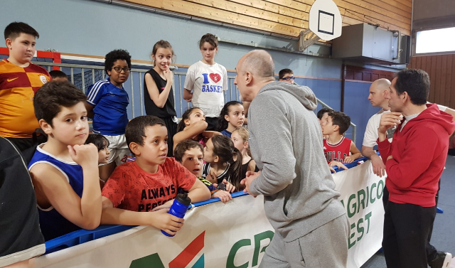 """Interview de Bernard Faure, coach équipe de France U16"