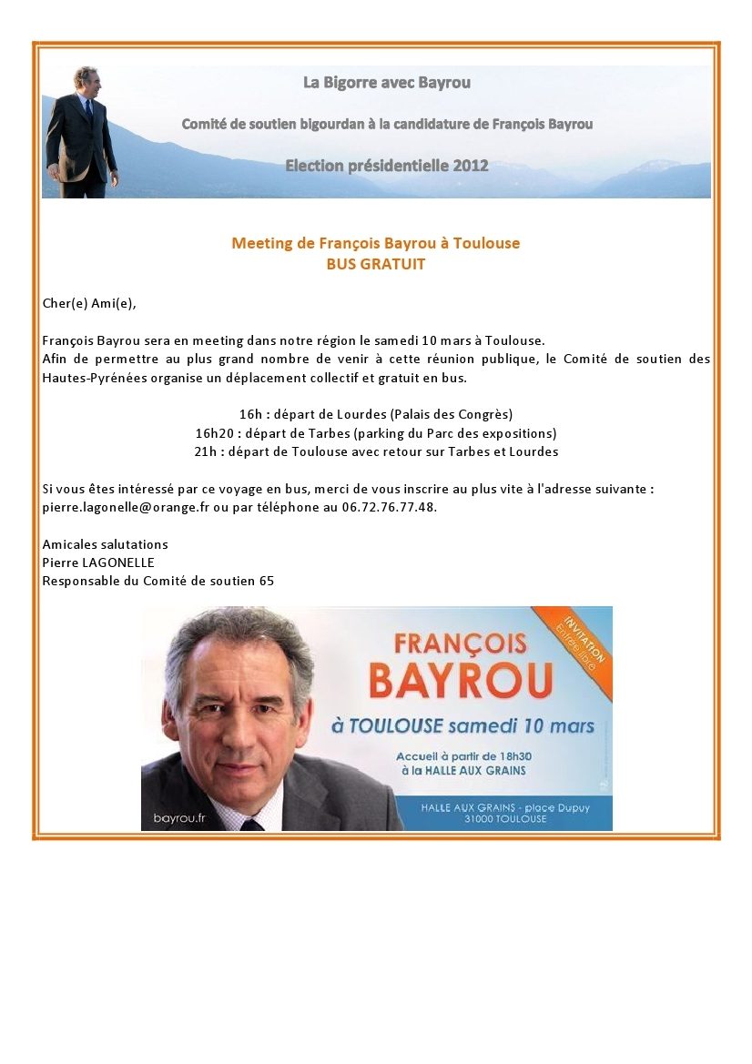 Invitation Meeting Toulouse