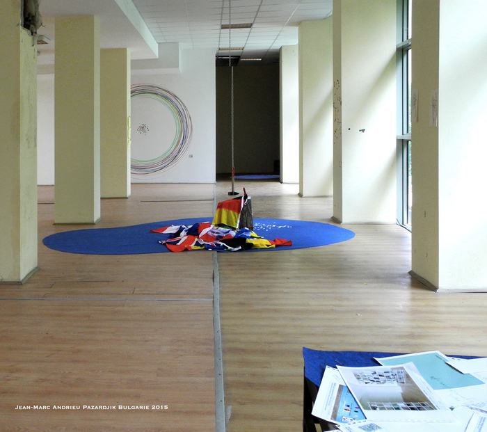 Exposition art Jean-Marc Andrieu en Bulgarie