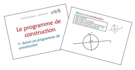 Le programme de construction - Diaporama