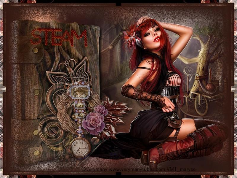 Ma  création Steampunk