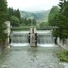 Premier barrage sur le fleuve