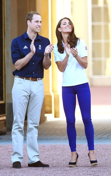 Kate, William harry et la flamme