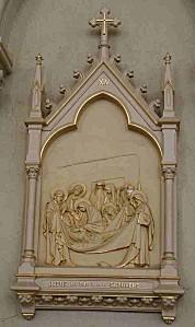 XIV-Jésus est mis dans le sépulcre