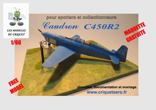 CAUDRON C450 R2