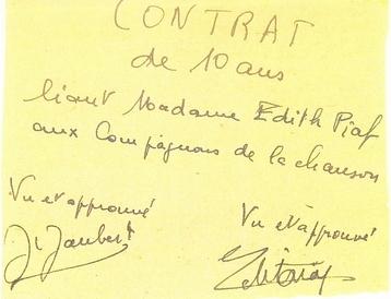 Avec Edith Piaf ♥c'était une histoire d'amour♥