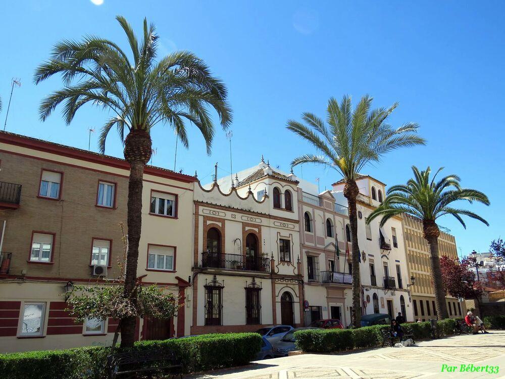 Huelva au sud de l'Espagne