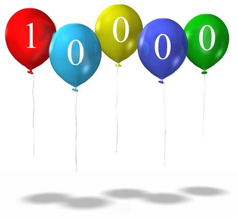 10 000 visiteurs !!!