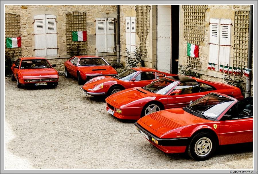 Morceaux de Ferrari
