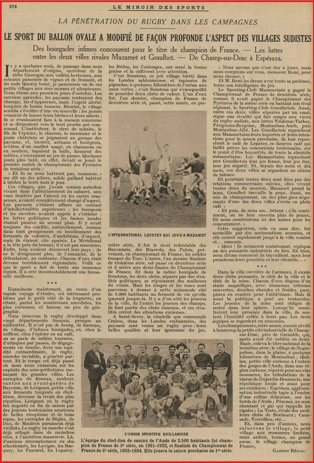 - Rugby 1924