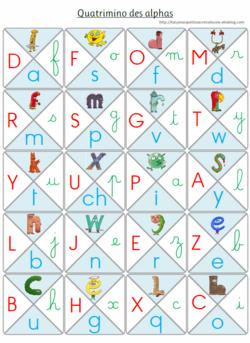 Le quatrimino des alphas