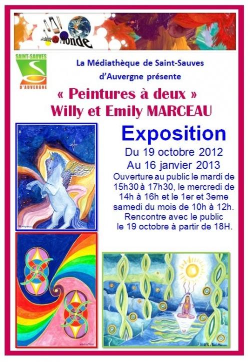 EXPOSITION DE W. ET E.MARCEAU