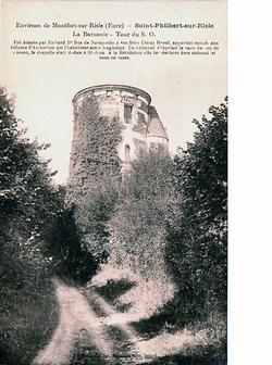 LES REMPARTS DE SAINT-PHILBERT-SUR-RISLE (Eure)