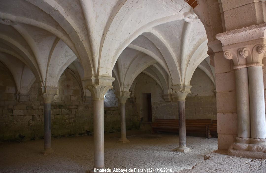Salle capitulaire - Abbaye de Flaran - Gers (2)