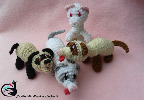 My Little Fouif II ( Furet au crochet Masque en V )