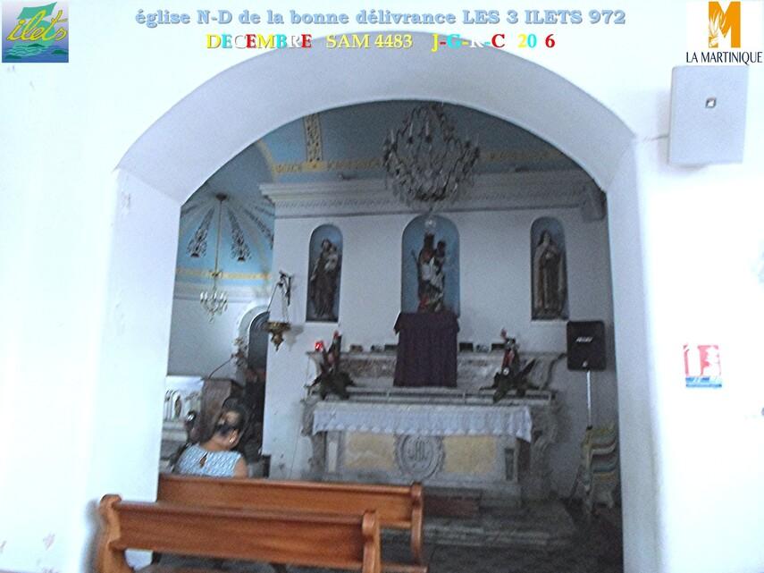 Eglise  2/3   Notre Dame de la délivrance  LES TROIS ILETS  972               D  26/06/2018