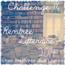 1% de la rentrée littéraire 2014