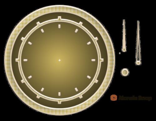 Horloge pour créations flash