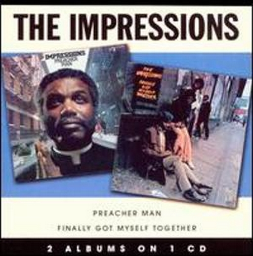 """2008 : Albums CD """" The Impressions 2 Albums On 1 CD """""""