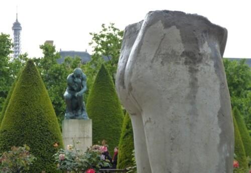 Dewar et Gicquel sculptures La mode le penseur Musée Rodi