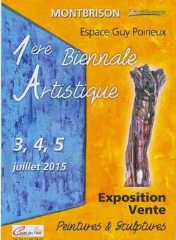 1ère biennale artistique de Montbrison