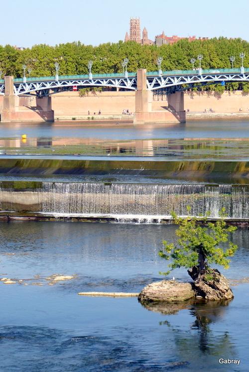 Toulouse: Garonne en septembre